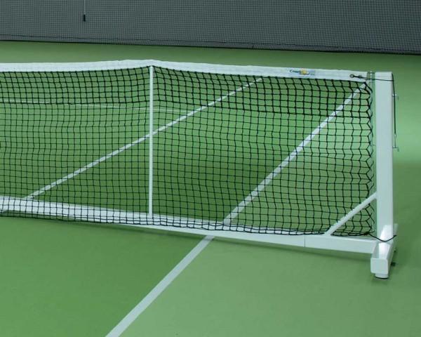 Singlenetzstütze - Tennisanlage Court Royal II Turnier weiß