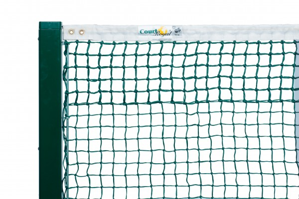 Tennisnetz Court Royal TN 20 schwarz und grün