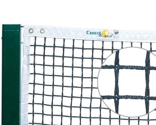 Tennisnetz Court Royal TN 150 Open Air schwarz