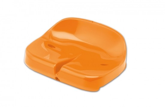 Tribune Seat Compact for Self Assembly - orange