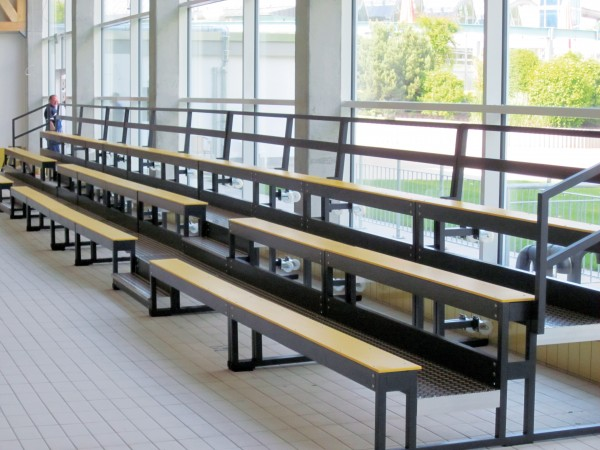 Mobilissima tribune seating - indoor and outdoor