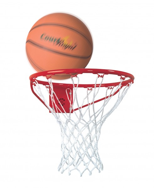 Basketball Basket DIN red