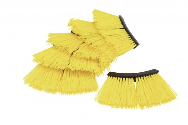 PVC bristles for Turbo-Broom USP - yellow
