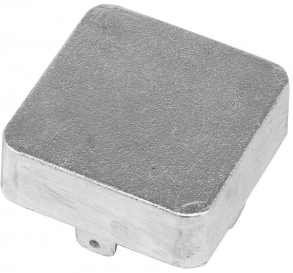 Ersatzteile für Tennisnetzpfosten - Deckel Mechanikpfosten 80 x 80 mm