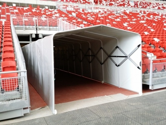 Players Tunnel, Foldable