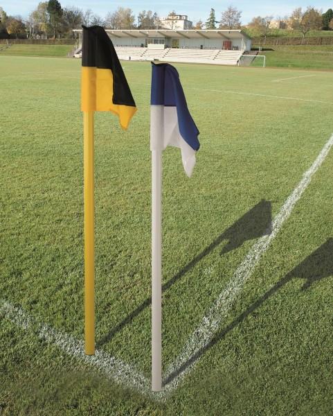 Grenzstange 50 inkl. Fahne und Bodenhülse - 2 Farben