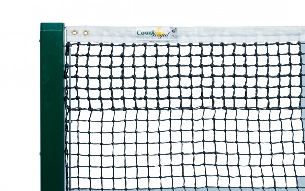 Tennisnetz Court Royal TN 50 Turnier schwarz