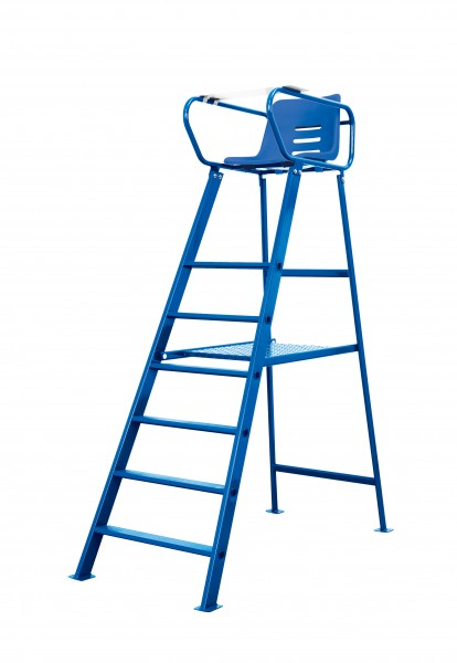 Schiedsrichterstuhl Court Royal Deluxe blau