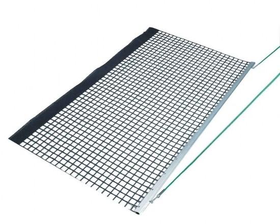 Aluminum Drag Net - Single PVC