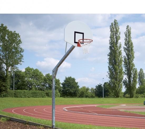 Basketballanlage Court Royal mit GFK-Brett