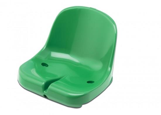 Tribune Seats Elegance for Self Assembly - dark green