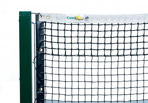 Tennisnetz Court Royal TN 90 schwarz und grün
