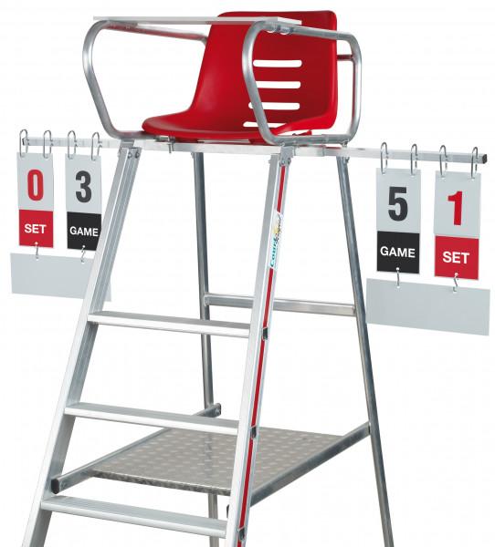 Scoreboard Umpires Chair
