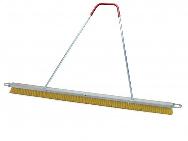 Tennis Court Broom for Quartz Sand Plastic yellow