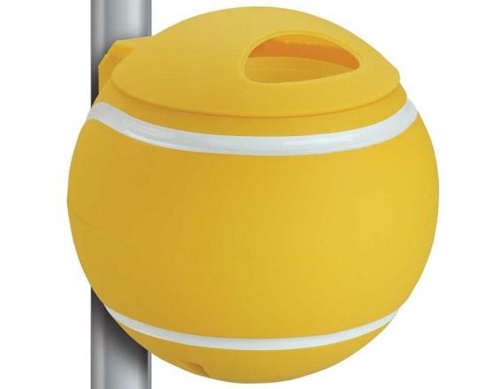 Designer Papierkörbe - gelb