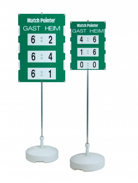 Match Pointer Scoreboard Free-Standing - 2 different sizes