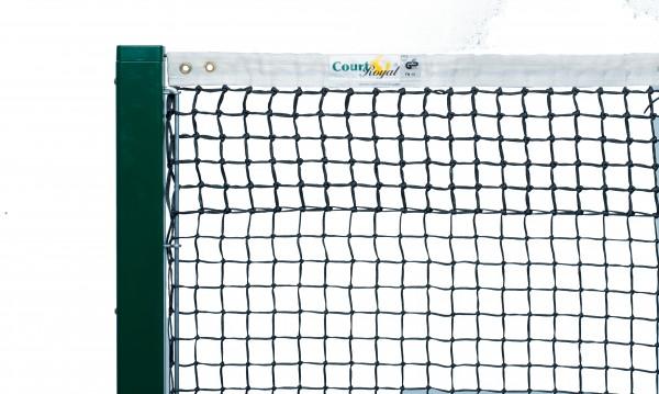 Tennisnetz Court Royal TN 15 schwarz und grün