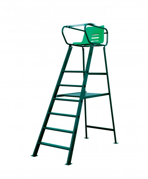 Umpire Chair Court Royal Deluxe green powder-coated