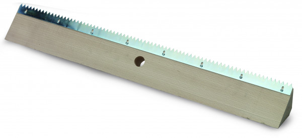 Wooden Rake with saw blade