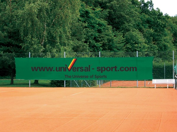 Windscreen Advertising Superprinted with Universal Sport