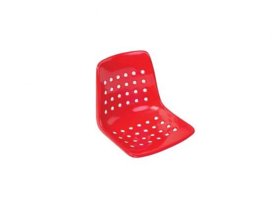 Sitzschale - rot für Schiedsrichterstuhl (alte Ausführung)