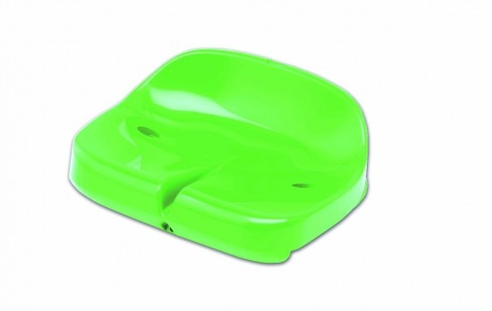 Tribune Seat Compact for Self Assembly - light green