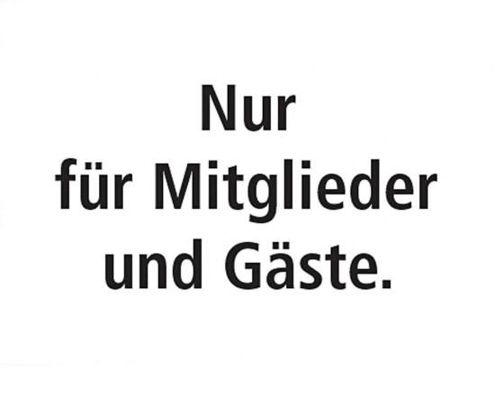 Schild Mitglieder und Gäste - Deutsch
