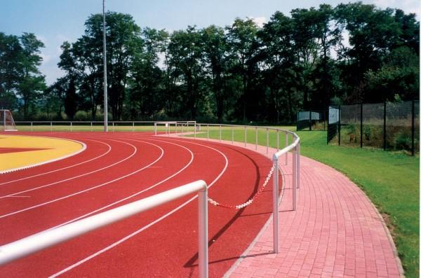 Barrieren System Aluminium eloxiert 3m