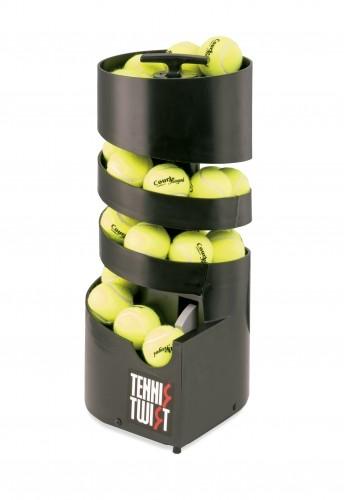 Ballwurfmaschine Tennis-Twist: 28 Bälle