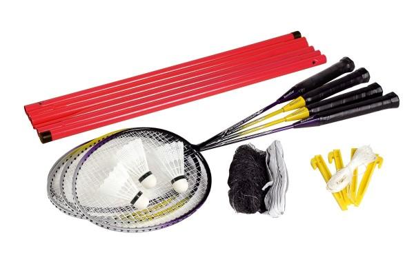 Badminton-Set mit Schläger und Netz