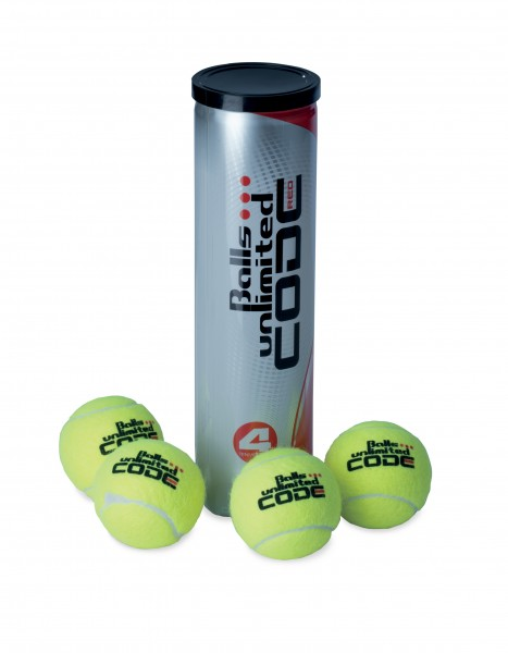 Tennisball Balls Unlimited Code Red - 4er Dose