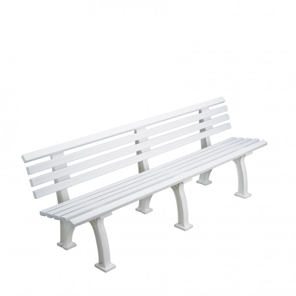 Bench Berlin - white, green or blue