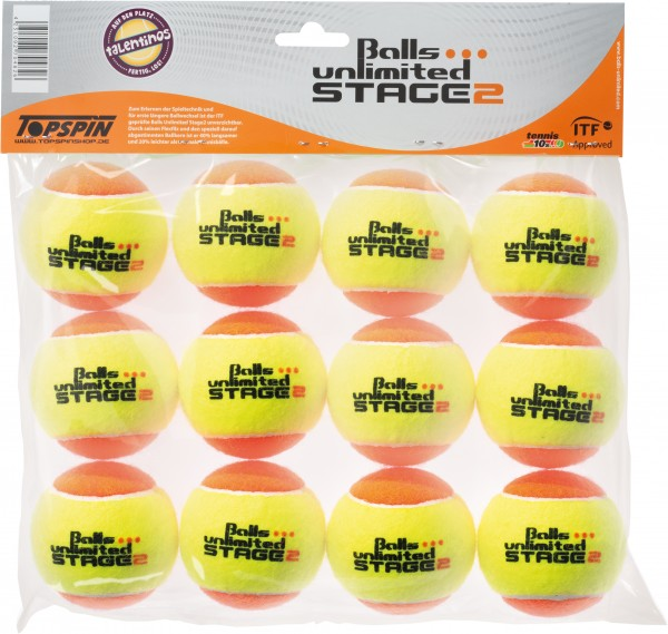 Tennisball Balls unlimited Stage 2